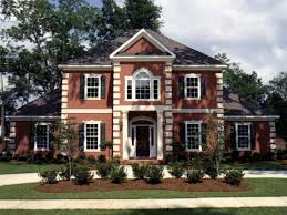 colonial house plans. Whitemire Luxury Colonial Home House Plans I