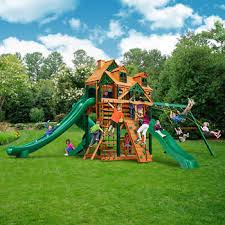 Gorilla Playsets Wilderness Retreat Playset - Installed