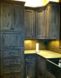 gray kitchen cabinets distressed faux finishing and furniture distressing with chalk paint