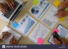 Research Stock Market Chart Paper For Analysis Brainstorm