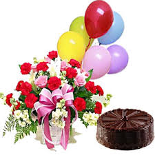 birthday cake and balloons and gifts. Perfect And Balloons Gifts To India Online Send India Birthday  To Cake And I
