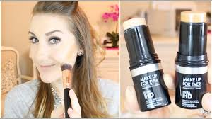 contour with stick foundation mufe ultra hd full routine