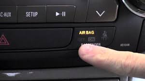 2006 Toyota Corolla Airbag Light Stays On 2012 Toyota Highlander Passenger Airbag Or Classification System How To By Toyota City
