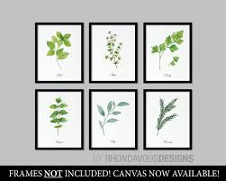 kitchen art herbs art print herb art herbs decor herbs kitchen art print kitchen wall art wall decor home decor ns 854