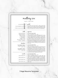 Resume Icons Resume Design Resume Template Word Resume Etsy