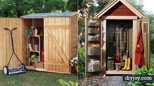 31 diy storage sheds and plans to make