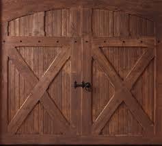 rustic garage doorsCentral Utah Door  Projects
