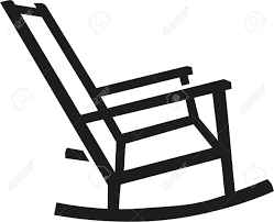 rocking chair silhouette. Exellent Silhouette Rocking Chair Silhouette Inside Chair Silhouette 123RFcom