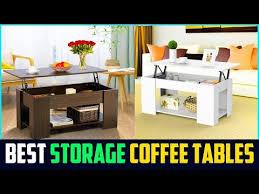 top 5 best storage coffee tables 2019