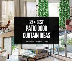 best patio door curtain ideas designs