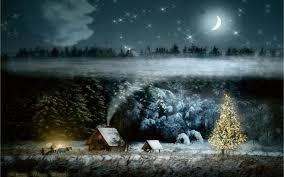 Christmas Night Wallpaper ...