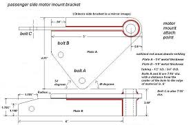 luvtruck com information drawing of buick v 6 motor mounts