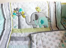 nursery cot bedding elephant baby cot bedding set cotton kids bedding set baby baby bedding boy nursery cot bedding