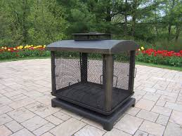 outdoor wood burning fireplace fire pit 8118 bk hover to zoom