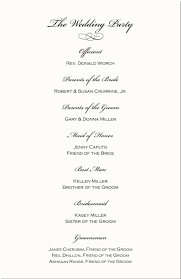 sample wedding program wording reception wedding program image collections wedding decoration ideas