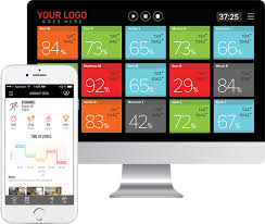 Group Fitness Challenge Tracker Heart Rate Gym And Studio Solution Group Heart Rate Training