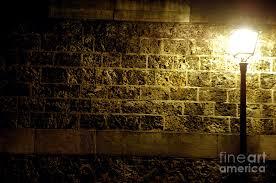 Image Led Lamp And Brick Wall Fine Art America Lamp And Brick Wall Photograph By Micah May