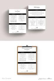 Cafe Menu Template Menu Template Restaurant Cafe Menu Coffee Shop Menu Price List Food Menu Drinks Menu Black And White Minimalist Instant Download