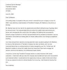 formal letter of complaint sample formal letter of complaint customer complaint letter template 11 sample example