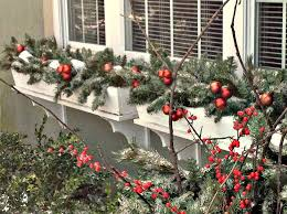 Christmas Window Box Decorations Christmas Decorating New Use For Old Christmas trees 30