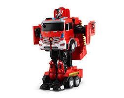 <b>Радиоуправляемый робот</b>-<b>трансформер Jia Qi</b> Пожарная ...