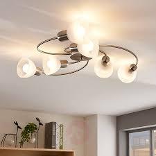 6 Lamps Led Woonkamer Plafondlamp Paulina Lampen24nl
