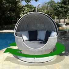 dome furniture. rotates 360 degrees so you follow the sun dome furniture