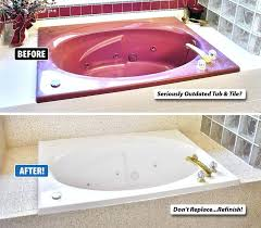 bathtub refinishing do you need to refinish your bathroom tub want change the color of save photo of miracle method bathtub refinishing
