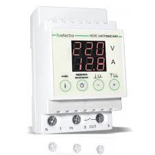HS Electro НТ-63с <b>Реле напряжения</b> с <b>контролем</b> тока нагрузки ...