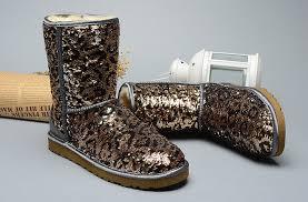 ... UGG Classic Short Sparkles Boots Leopard ...