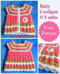 Crochet Baby Sweater Pattern Enchanting Over 48 Free Baby Sweater Crochet Patterns At AllCraftsnet