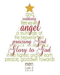Free Printable Christmas Scripture Tree