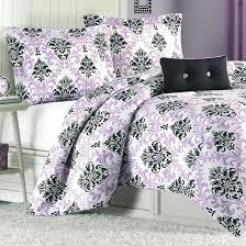twin comforter set purple xl
