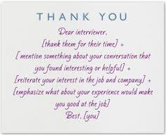 sample thank you letter after interview via email sample post interview thank you note get your dream job and we