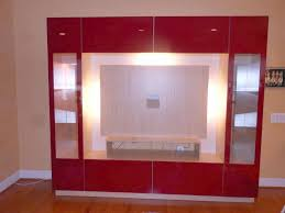 red glass entertainment center in virginia contempo space blog throughout prepare 17