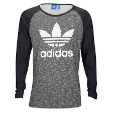 adidas long sleeve. adidas originals trefoil raglan long sleeve t-shirt - men\u0027s g