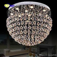2018 most popular contemporary led k9 crystal stainess steel led chandeliers lamp crystal chandelier light from mayun5168 306 12 dhgate com