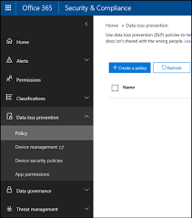 Dlp Office 365 Data Loss Prevention Dlp Implementation In Office 365