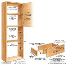 Diy Kitchen Pantry Cabinet How To Build A Garage Pantry Cabinet Best Home Furniture Decoration