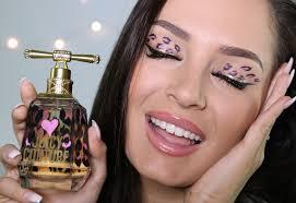 pink leopard print makeup tutorial you