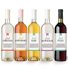 amazon first milestones wine bottle labels marriage celebrations wedding gifts enement party gift ideas bar tools drinkware