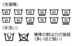 新しい洗濯表示v はっぴぃえんどhe