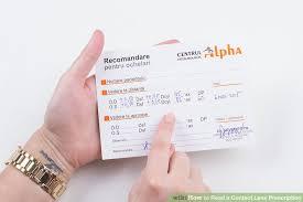Contact Prescription Strength Chart How To Read A Contact Lens Prescription Optometrist Advice