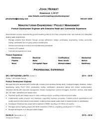 Herbst John Resume Manufacturing Engineer 40 Stunning Manufacturing Engineer Resume