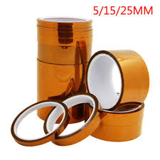 5/15/25mm <b>33m 100ft Kapton Adhesive</b> Tape BGA High ...