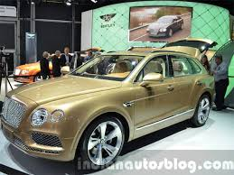 bentley new car releaseBentley launches the worlds fastest SUV Bentayga in India  The