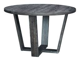 skyline round dining table gray