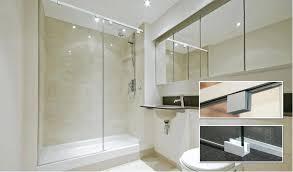 sliding frameless shower door debuts soft slide shower door systems with prime line frameless sliding shower