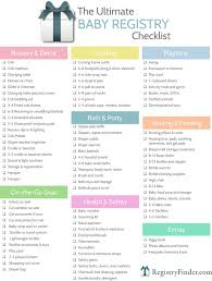 Baby Registry Checklists Ultimate Baby Registry Checklist Baby Shower Planning Baby Gifts 1
