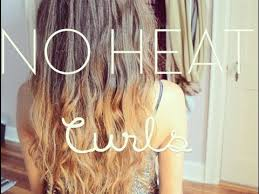 no heat beachy waves curls overnight